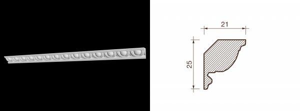 Kарниз гипсовый с рисунком КР-13